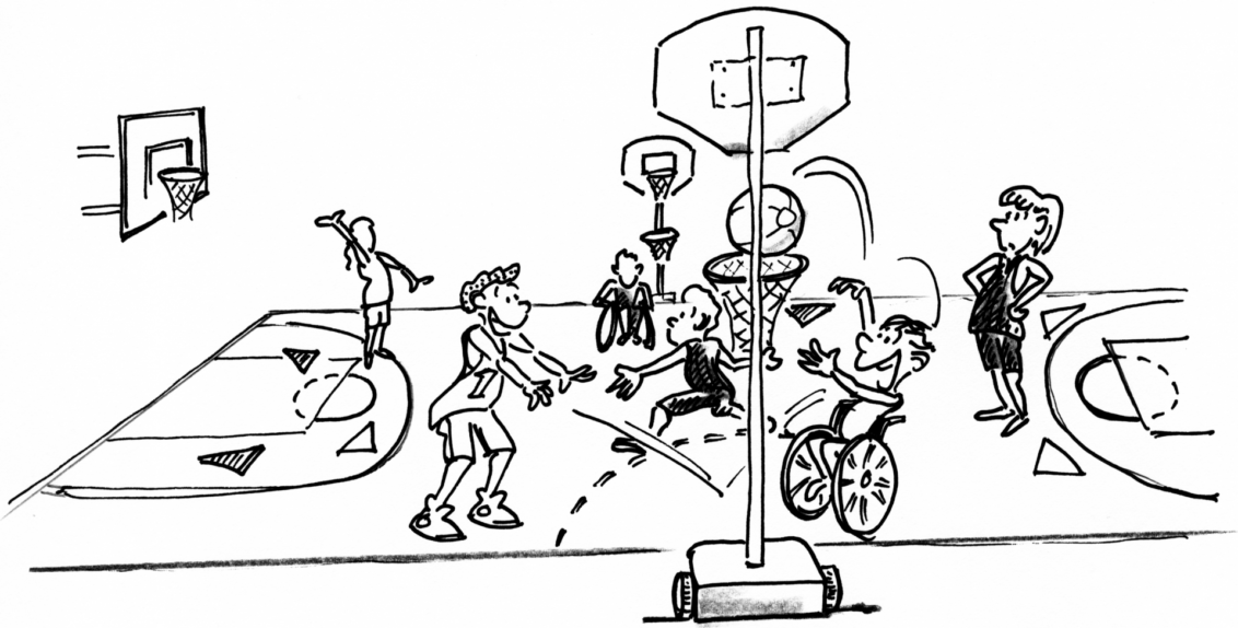 Alla scoperta del Baskin, lo sport per tutti